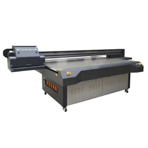 2.5m * 1.3m high definition ricoh gen 5 digital uv flatbed glass printer
