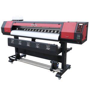 විශාල ආකෘතිය 1.8m vinil dx5 මුද්රණ හිස Eco solvent printer