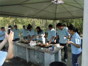 සරත් 2014, Gucun Park දී BBQ