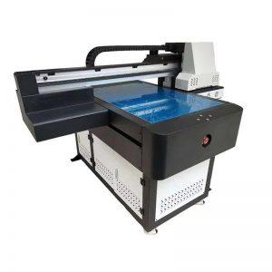 8cm මුද්රණ උස WER-ED6090UV සඳහා භ්රමණය වන UV පැතලි මුද්රකය